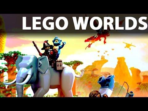 Lego Worlds Gameplay Po Polsku Zupełnie Nowa Gra Youtube