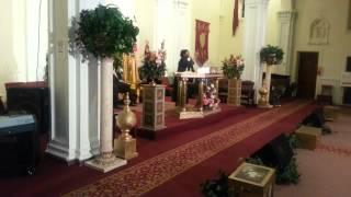 Celeste Washington Preaching