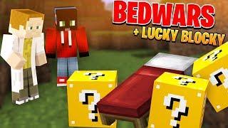 BedWars s Luckybloky == Zajímavá kombinace 😀 [Minecraft]