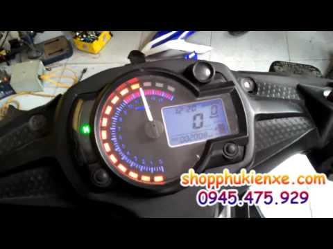 [shopphukienxe.com] Centa 175cc họng ga 28mm lắp Exciter 150 trái 58