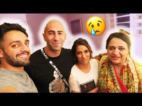 FOUSEY SURPRISES MY MOM AT OUR HOUSE! (Final Goodbye)