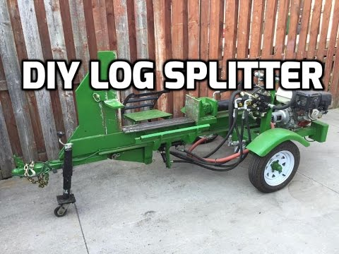 DIY Log Splitter