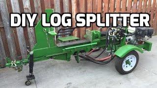 DIY Log Splitter