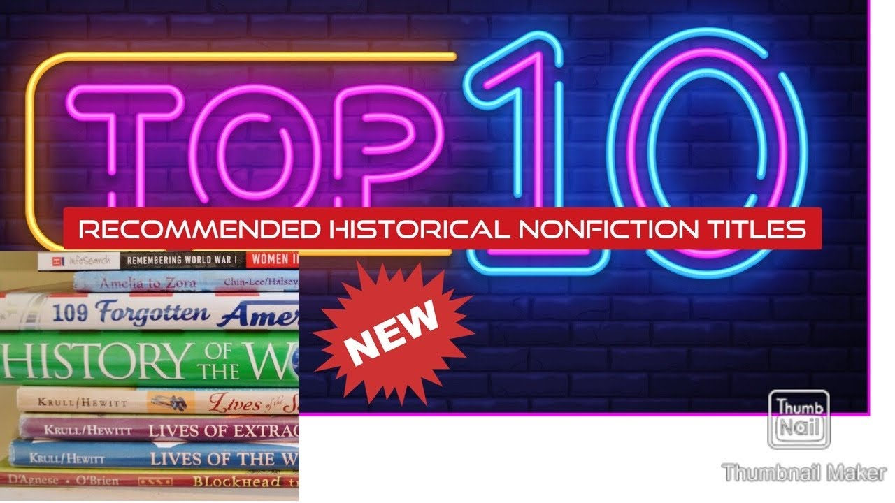 Top 10 Historical Nonfiction Recommendations