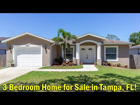 3 Bedroom House For Sale In Tampa, Florida