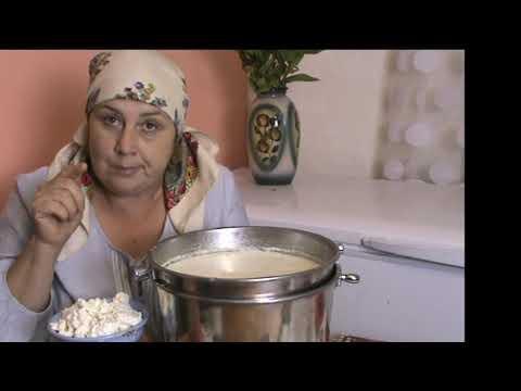 Как сделать творог из топленого молока в домашних условиях