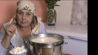 РЕЦЕПТ  СЛОЁНЫЙ ТВОРОГ из топлёного или обезжиренного молока