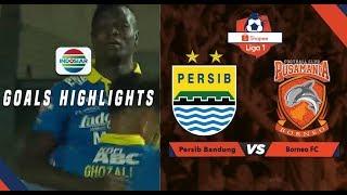Persib Bandung (2) vs Borneo FC (2) - Goal Highlights | Shopee Liga 1