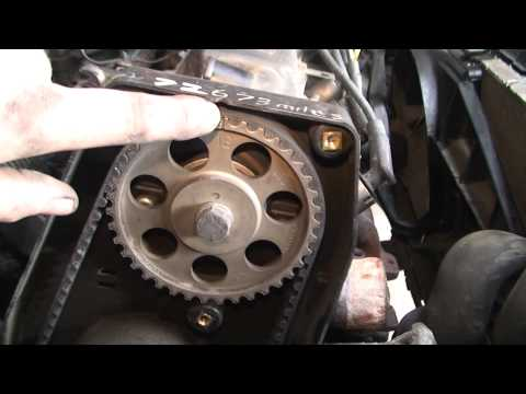 bodgit and leggit garage opel astra how to do timing belt (part 5)