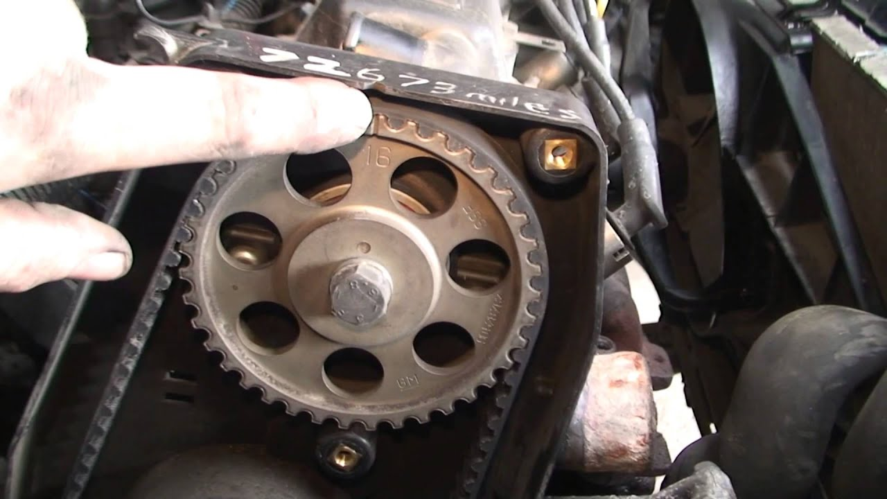 bodgit and leggit garage opel astra how to do timing belt (part 5)  YouTube
