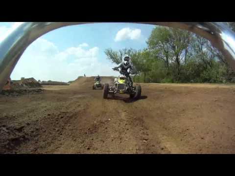 ATVA race - 90 cvt - helmet cam