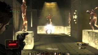 Deus Ex Human Revolution Змея  The Snake  Босс  Boss  Только пистолет  Only pistol  Максимальная сложность  Max difficulty  Достиже
