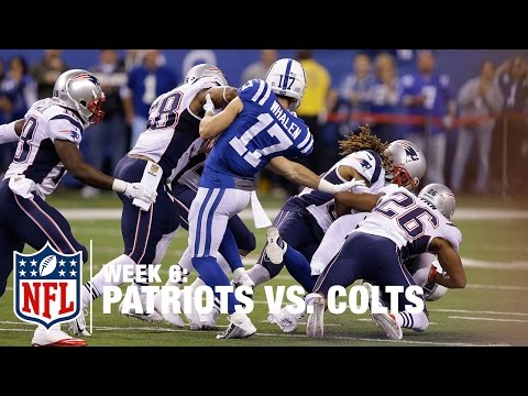 Colts Fourth-Down Trick Play Goes Horribly Wrong (Week 6) | Patriots vs. Colts | NFL
