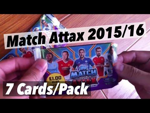 BDST - Mở pack Match Attax EPL 2015/16