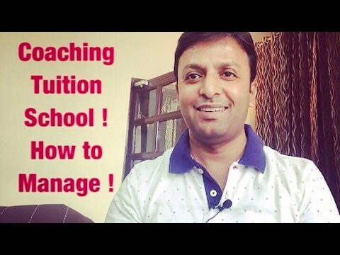 How to manage Coaching classes , tuition and school simultaneously .
