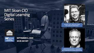 MIT Sloan CIO Digital Learning Series -- Update #3