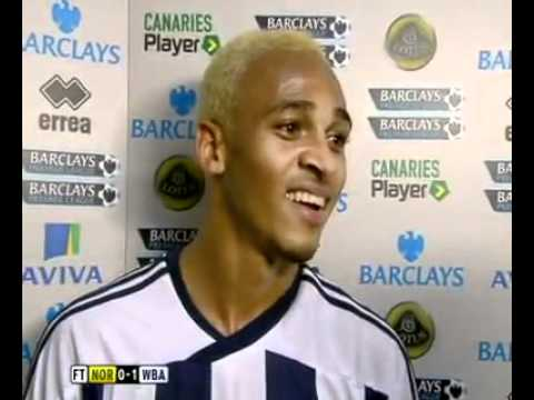 Peter Odemwingie's Interview After West Brom's 1.0 Win At Norwich.