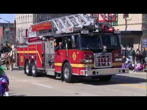 Pride of the Fox: St. Patrick's Day Parade 2012: St.Charles, Illinois