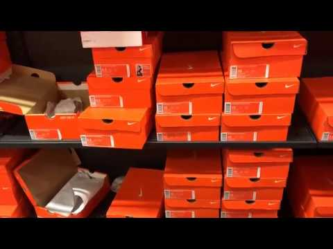 igual camino Anticuado  Nike Factory (Dolphin Mall, Miami) - YouTube