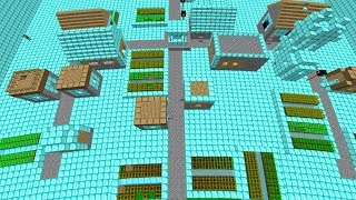 GİZLİ ELMAS ŞEHRİNİ BULDUM!😱 - Minecraft
