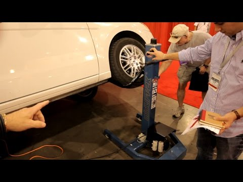 Jack That Lifts The Whole Side Of The Car Hoffman Mini Lift Youtube