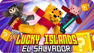 LUCKY ISLANDS: EL SALVADOR! | Minecraft Lucky Blocks - Gona, Sarinha, Macundra y Luh