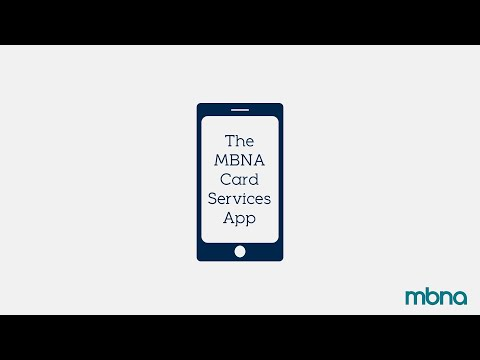 The MBNA Card Services App | MBNA