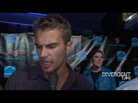 Divergent Movie Comic-Con After-party red carpet interviews & photocall