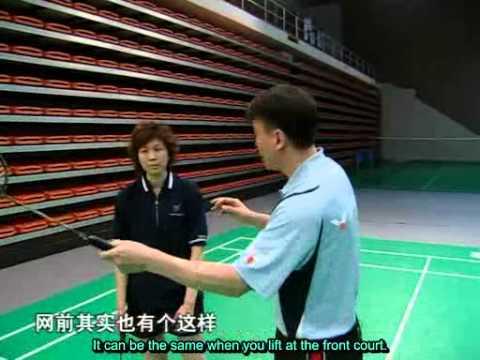 [Clip 4] Cú đánh thuận tay trong sân, thuận tay chéo sân