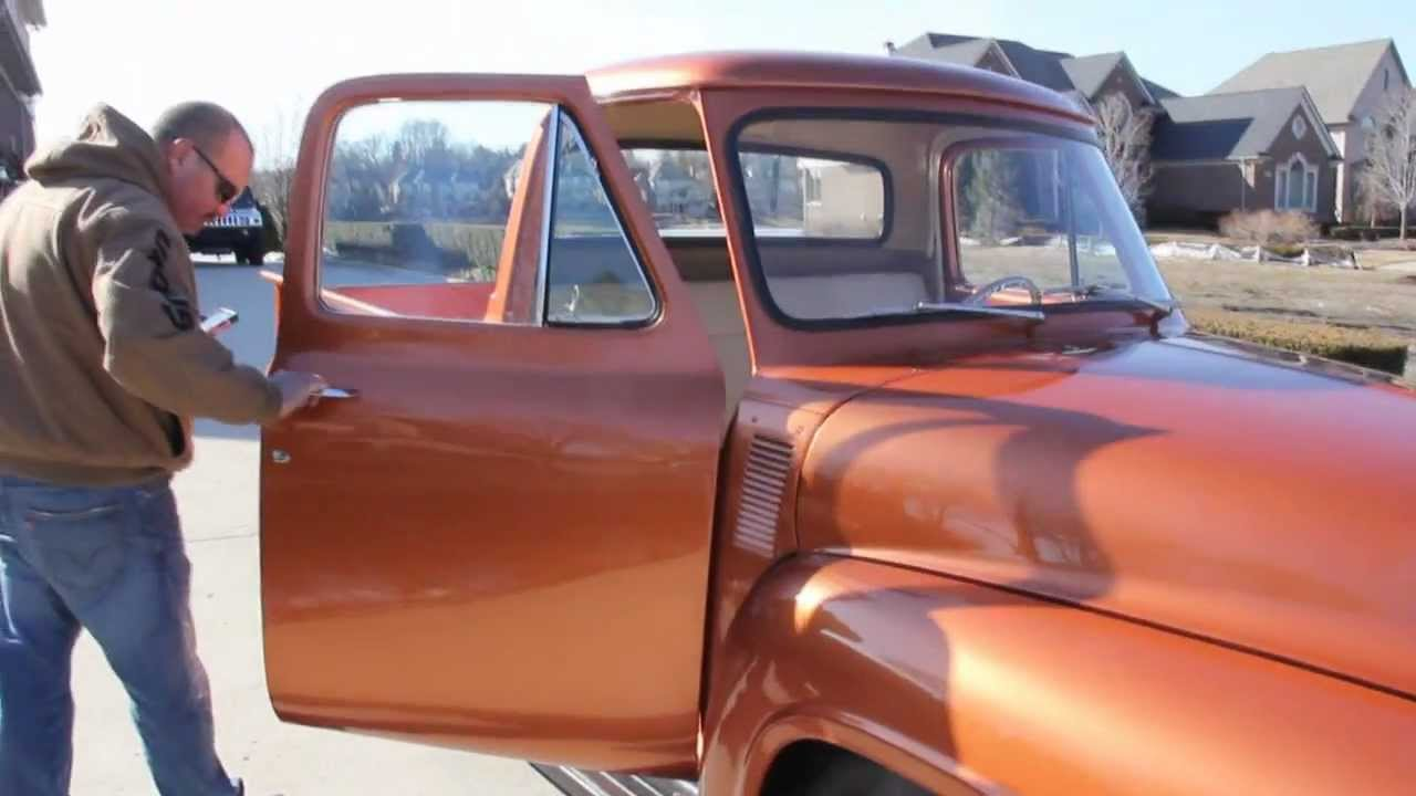 1955 Ford Truck Interior Cars Gallery F100 Image