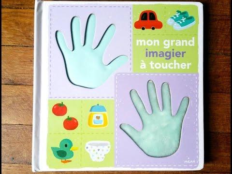 """Mon grand imagier à toucher"" Milan"