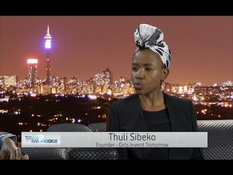 Tonight with Tim Modise | Thuli Sibeko, Girls Invent Tomorrow & MD of Anglo African Events