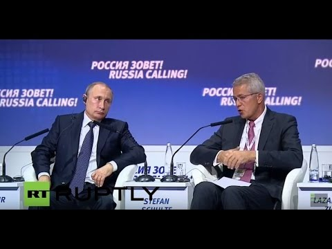 LIVE: Putin participates in VTB Capital Investment Forum