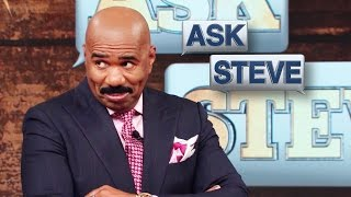 Ask Steve: Just eat the damn meat! || STEVE HARVEY