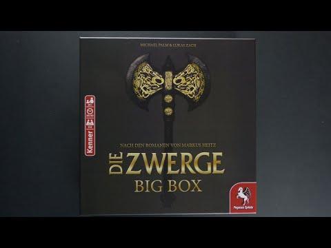 Download kooperative Brettspiele - Die Zwerge Big Box - Die ganze Saga in einer Box - Material/Regeln/Review