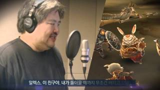 [드래곤아이드] 성우 더빙 현장 스케치 영상