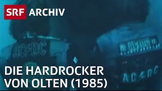 Die Hardrocker von Olten (1985) | Höllenmusik aus der Kirche | Jugendszene Schweiz | SRF Archiv