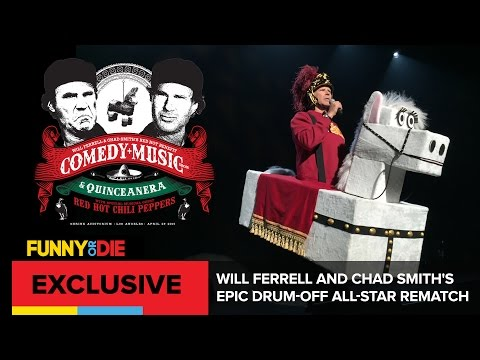 Will Ferrell and Chad Smith's Epic Drum-Off All-Star Rematch