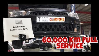 Mitsubishi Lancer EX 2.0 - Road to 60,000KM FULL SERVICE