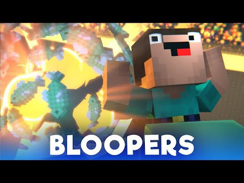 Derp Race: BLOOPERS (Minecraft Animation)