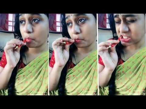 Rangamma Mangamma By Chaturya Cute Dubsmash Telugu