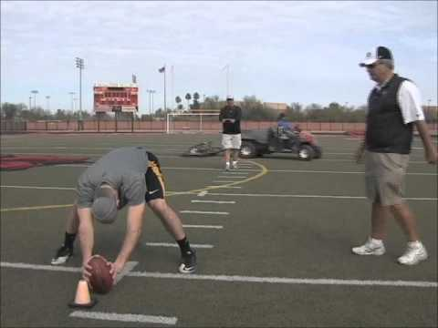 Beau Brinkley Long Snapper working with Coach Zauner Pt 2