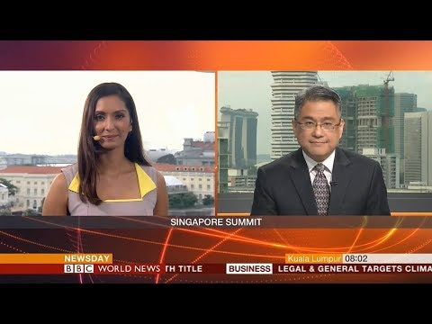 BBC World News Newsday - Trump-Kim summit