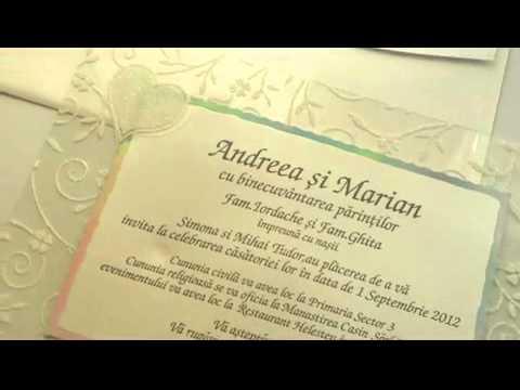 Invitatii Nunta 5347 Youtube
