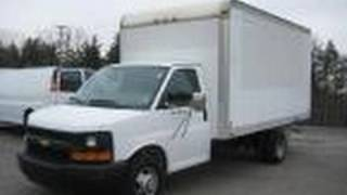 2005 Chevrolet Express Box Truck Start Up, Exhaust, and In Depth Tour