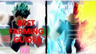 Best Boku No Roblox Farming Guide + STR (ONE SHOT)