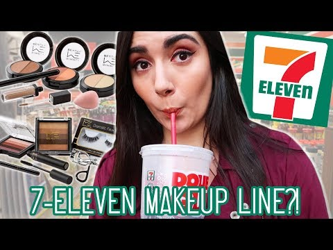 I Tried A Full Face Of 7-Eleven Makeup