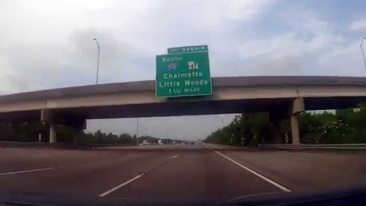Driving From Biloxi Mississippi To New Orleans La Youtube