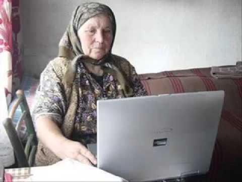 прикол с бабкой)