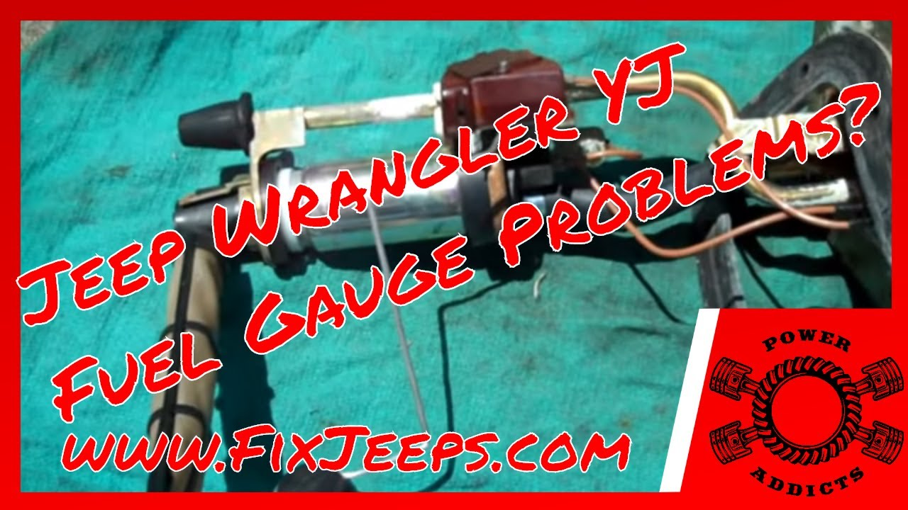 Jeep Wrangler YJ - Fuel gauge problems? Details and demo's included. on